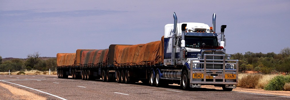 De wegtrein, een fenomeen dat vrijwel alleen in Australië voorkomt