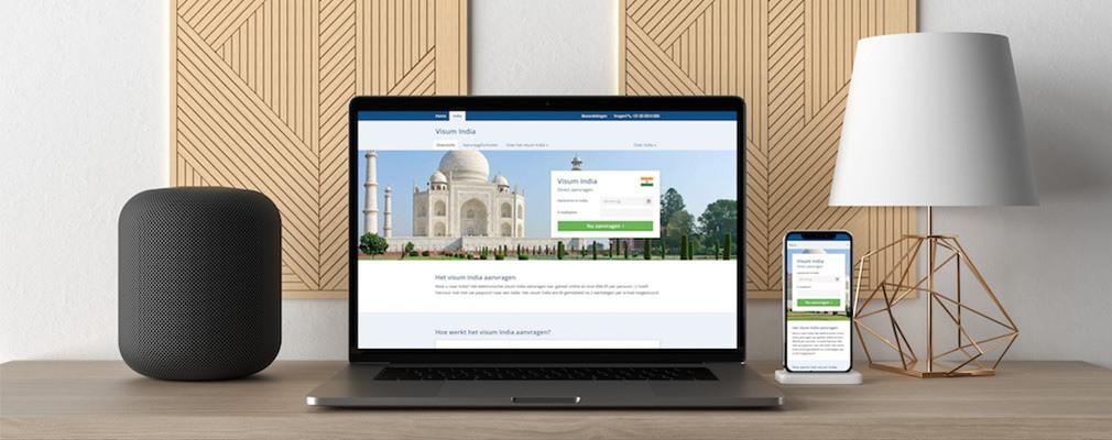 Visum online beantragen