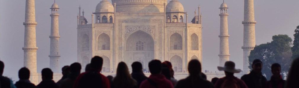 Das Taj Mahal in Indien