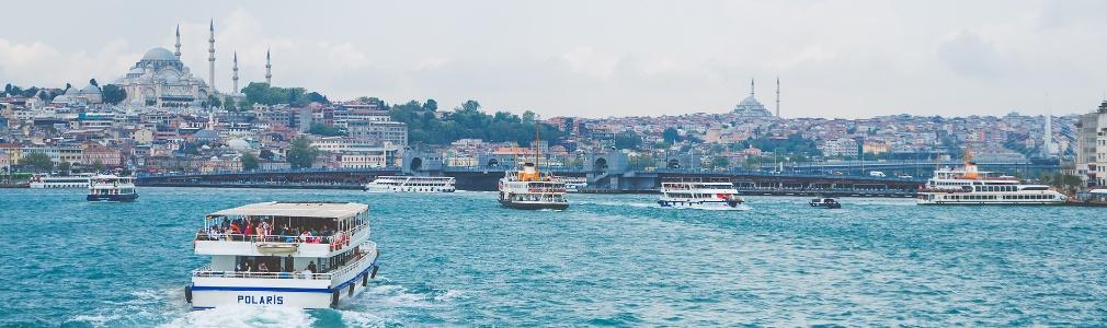 Istanbul vom Wasser aus