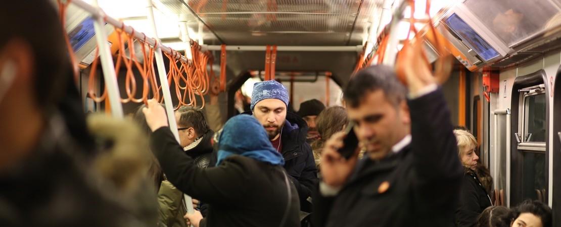 U-Bahn in der Türkei