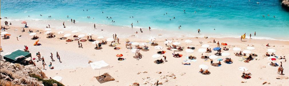 Am Strand in der Türkei (Antalya)