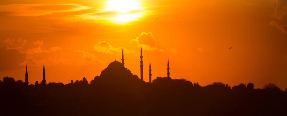 Sonne in der Türkei